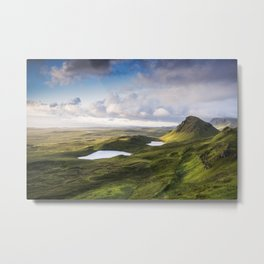 The Beauty of the Quiraing Metal Print