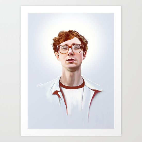 Erlend Øye, Kings of Convenience / The Whitest Boy Alive Art Print