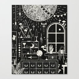 Moon Altar Canvas Print
