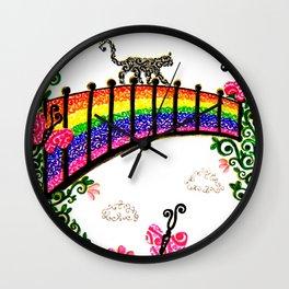 The Rainbow Bridge Wall Clock