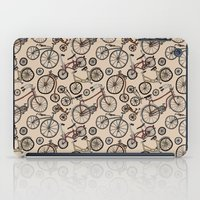 bicycles iPad Cases featuring Bicycles by Mario Zucca