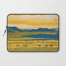 Grasslands National Park Poster Laptop Sleeve