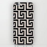 greek iPhone & iPod Skins featuring Greek Key by Charlene McCoy
