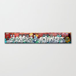 SW Crew Train Canvas Print