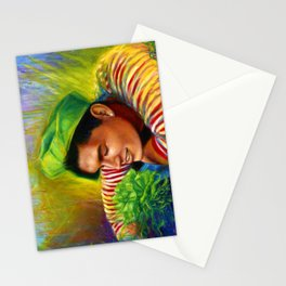 Alex Wassabi & The Tale of the Emerald Flower Stationery Cards
