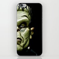 frankenstein iPhone & iPod Skins featuring Frankenstein by Sergio Bastidas