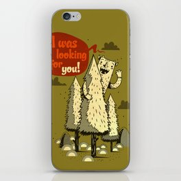 The Woods Monster. iPhone Skin