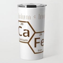 Calcium + Iron CA FE Travel Mug