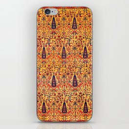 Kerman South Persian Garden Rug Print iPhone Skin