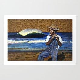 """The Pied Piper Of Stradbroke"" Art Print"