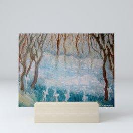 The Swan Lake Mini Art Print