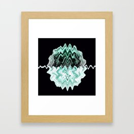 Brain Waves... Framed Art Print