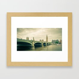Big Ben Framed Art Print