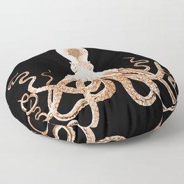 Octopus sea nautical beach coastal Floor Pillow