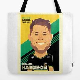 Teimana Harrison - Northampton Saints Tote Bag