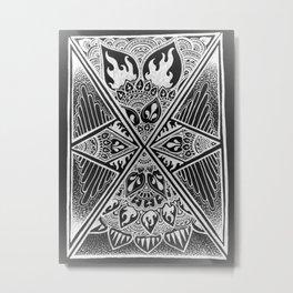 Lumineux Metal Print