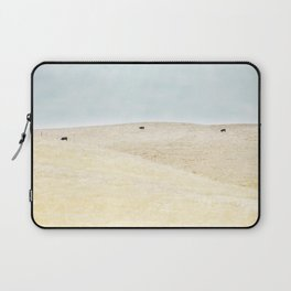 Sonoma Photography, Northern California Wine Country Grazing Cows Laptop Sleeve