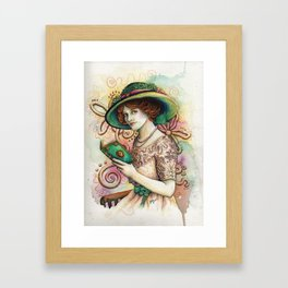 Read at your Leisure Framed Art Print