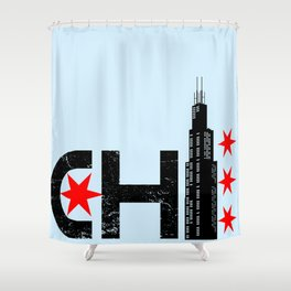 The Chi Shower Curtain