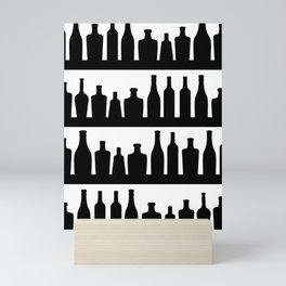Classic Bottles Mini Art Print