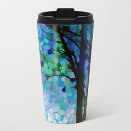 Blue Raspberry Jellybean Skies Travel Mug