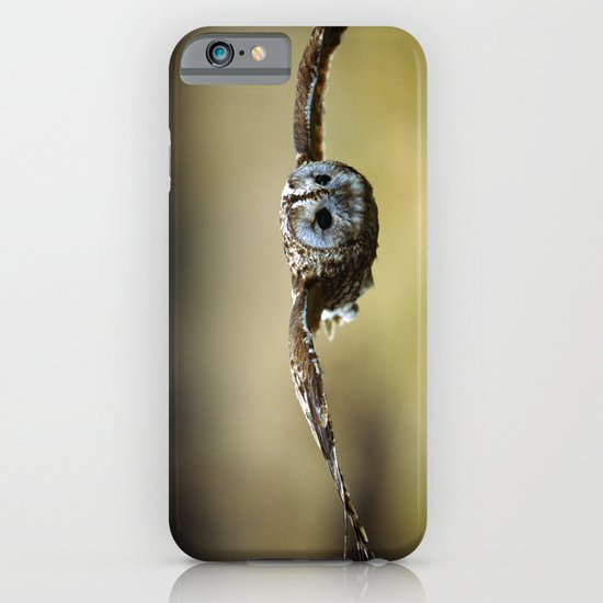 FLIGHT OF THE TAWNY OWL iPhone & iPod Case