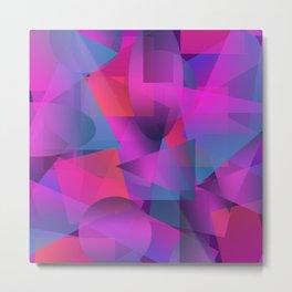 Abstract cube Metal Print