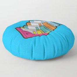 1.44MB Rainbow Floor Pillow