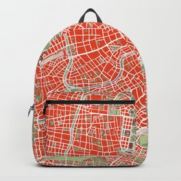 Vienna city map classic Backpack