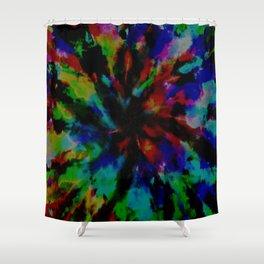 Tie-Dye #7 Shower Curtain