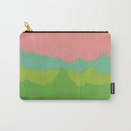 Green Mountains I Carry-All Pouch