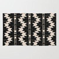 navajo Area & Throw Rugs featuring NAVAJO by bows & arrows