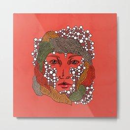 Yarn (pearl series) Metal Print