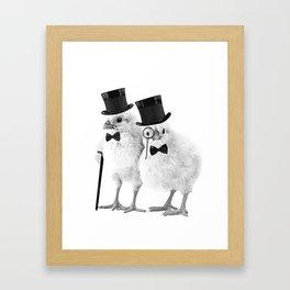 Not CHEEP (Version 2) Framed Art Print
