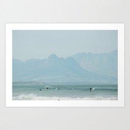 Muizenberg - iv Art Print