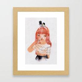 Le Mésange Framed Art Print