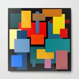 Color Blocks #8-2 Metal Print