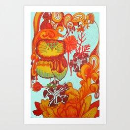 owl3 Art Print