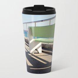 Beach Benches Travel Mug
