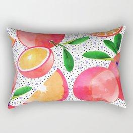 Citrus Love #digitalart #citrus Rectangular Pillow