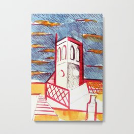 St Peters Church, Brighton Metal Print