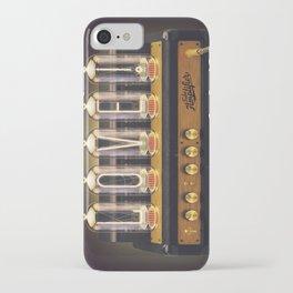 Amplifier L O V E - #1 iPhone Case