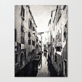 vivacità {b&w Canvas Print