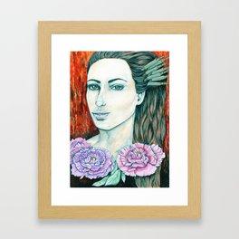 Miss Tsar Framed Art Print