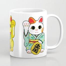 Lucky Cat / Maneki Neko Coffee Mug