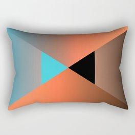 Triangle 4 Rectangular Pillow