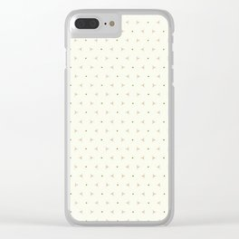 Holiday Cheer Clear iPhone Case