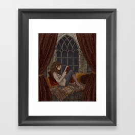 Reading Framed Art Print
