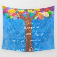 grateful dead Wall Tapestries featuring Grateful Tree by Julene Ewert