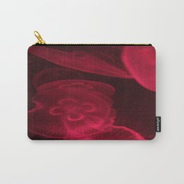 Pink Jelly Fish  Carry-All Pouch